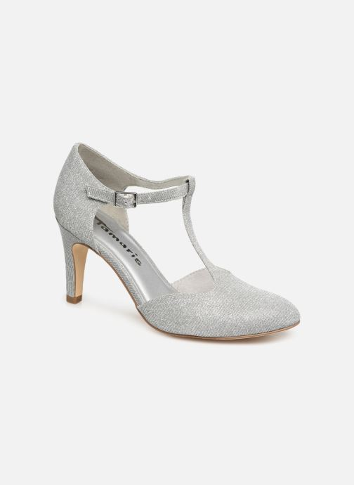High heels Tamaris Suri 1 Silver detailed view/ Pair view